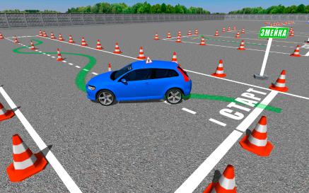 Симулятор вождения автомобиля по городу играть онлайн по правилам ПДД