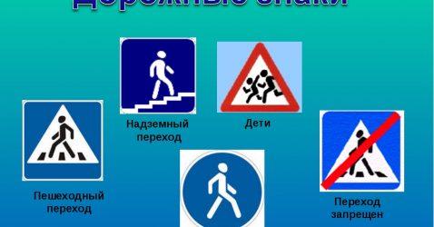 Знаки ПДД: запрещающие знаки