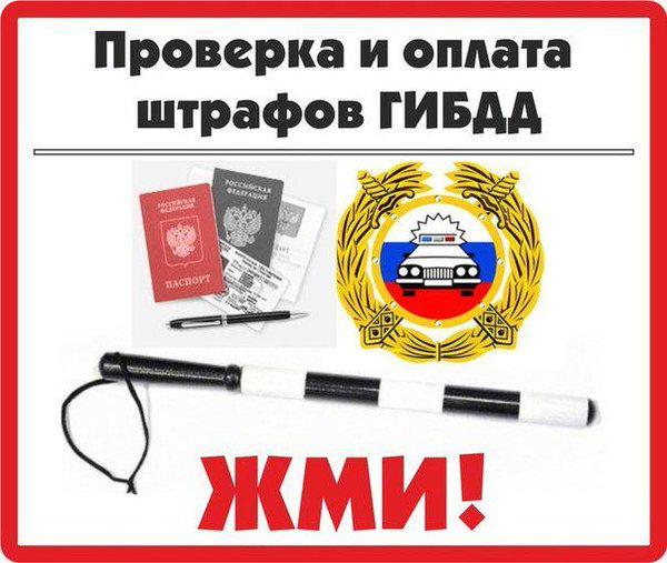 проверка штрафов ГИБДД по водительскому удостоверению